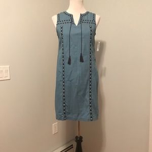Blue Old Navy Shift Dress NWT